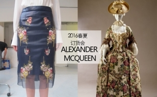 alexander Mcqueen - 2016春夏訂貨會