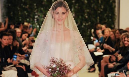 2016春夏婚纱[Carolina Herrera]纽约时装发布会