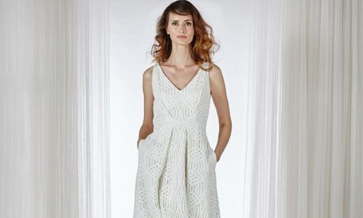 2016春夏婚纱[Charlie Brear]纽约时装发布会