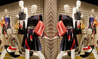 带你领略Prada橱窗的韵律