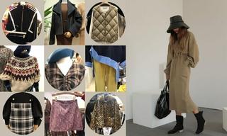 【韩国东大门】高领|系带外套|绗缝棉衣