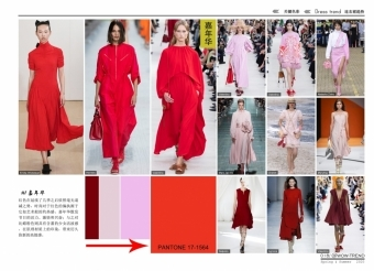 2020春夏 连衣裙趋势 - 色彩推荐