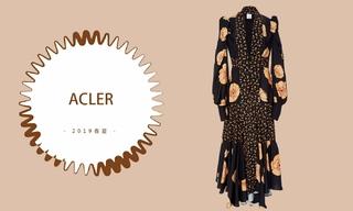 Acler - 细腻与简约(2019春夏预售款)