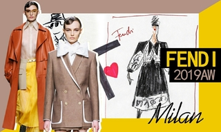Fendi:给 Karl Lagerfeld的情书(2019秋冬)