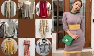 【韓國東大門】外套穿搭|熟女|舒適|學院
