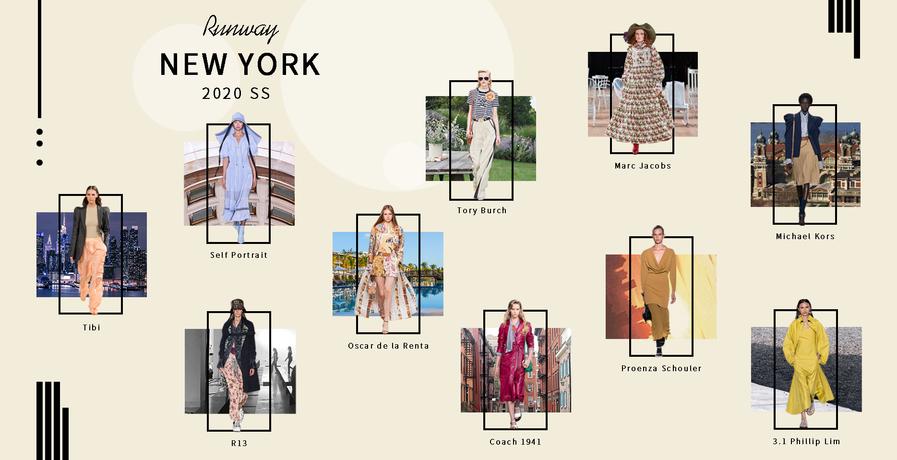 紐約:品牌推薦(2020春夏)