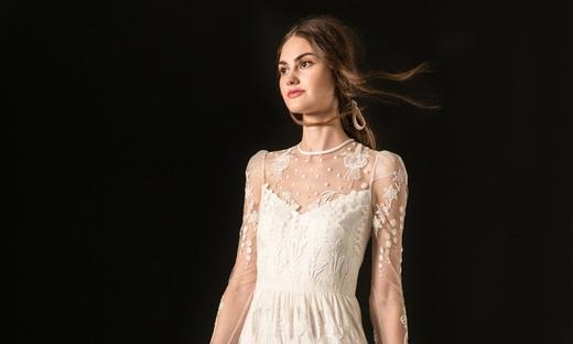 2020秋冬婚纱[Temperley London]纽约时装发布会