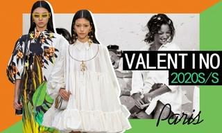 Valentino:野獸派的空靈夢境(2020春夏)
