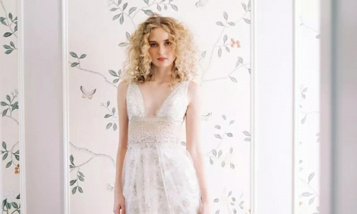 2020秋冬婚紗[Claire Pettibone]紐約時裝發布會
