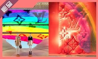 【櫥窗陳列】路易威登全球各精品店揭幕獨家彩虹櫥窗 & 愛馬仕帶你走進奇妙的創意世界
