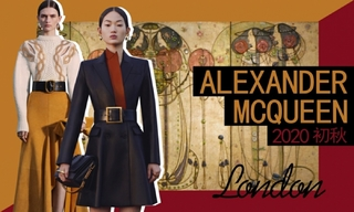 Alexander McQueen:復古的新藝術運動(2020初秋)