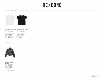 Re Done 2021春夏