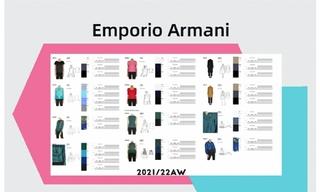 Emporio Armani - 2021/22秋冬訂貨會