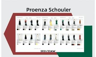 Proenza Schouler - 2021/22秋冬訂貨會