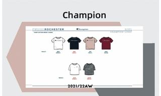 Champion- 2021/22秋冬訂貨會