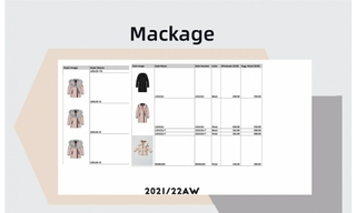 Mackage - 2021/22秋冬訂貨會