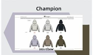 Champion - 2021/22秋冬訂貨會