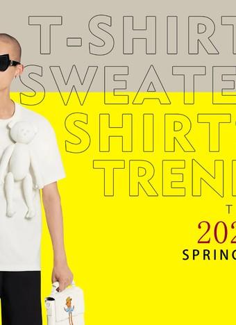 2022春夏 T恤卫衣趋势